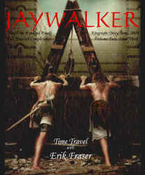 Cover of May/June issue of Jaywalker Magazine of the Arts